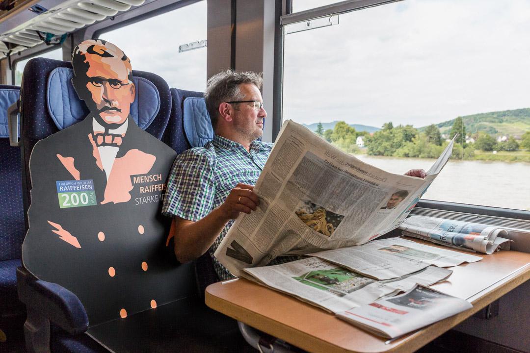 Raiffeisen trifft Marx in Trier - Raiffeisen-Tour 2018