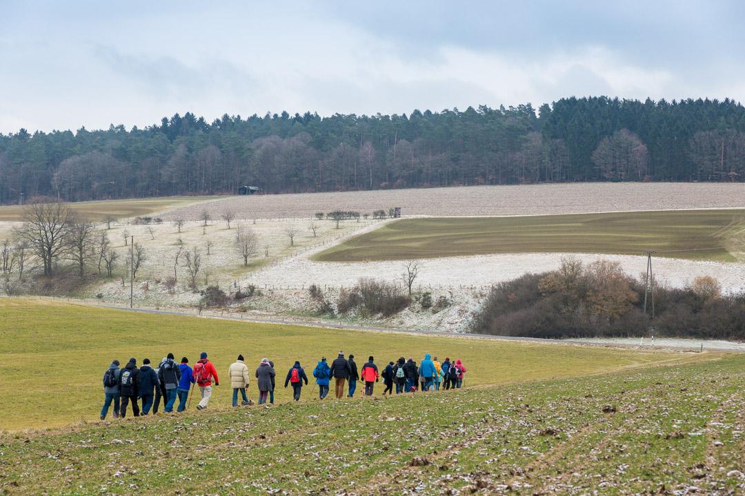 Wanderung nach Hamm (Sieg)